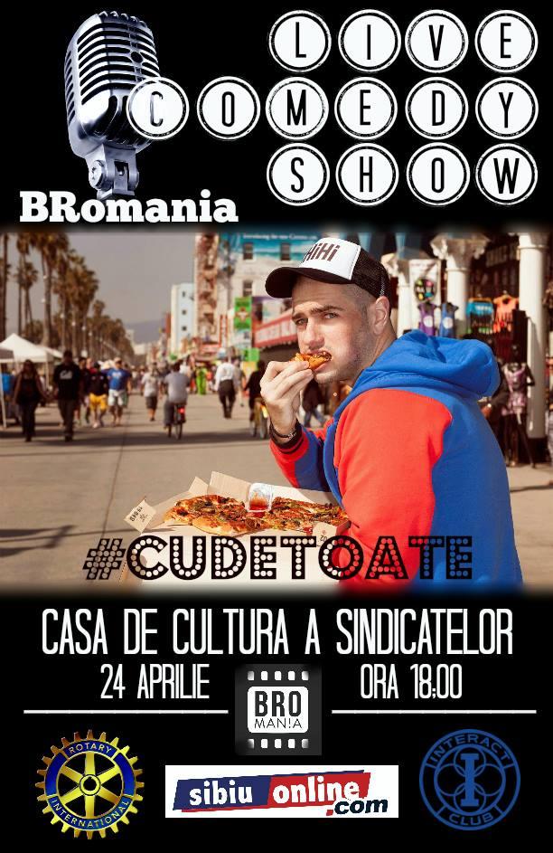 BRomania Live Comedy Show Sibiu