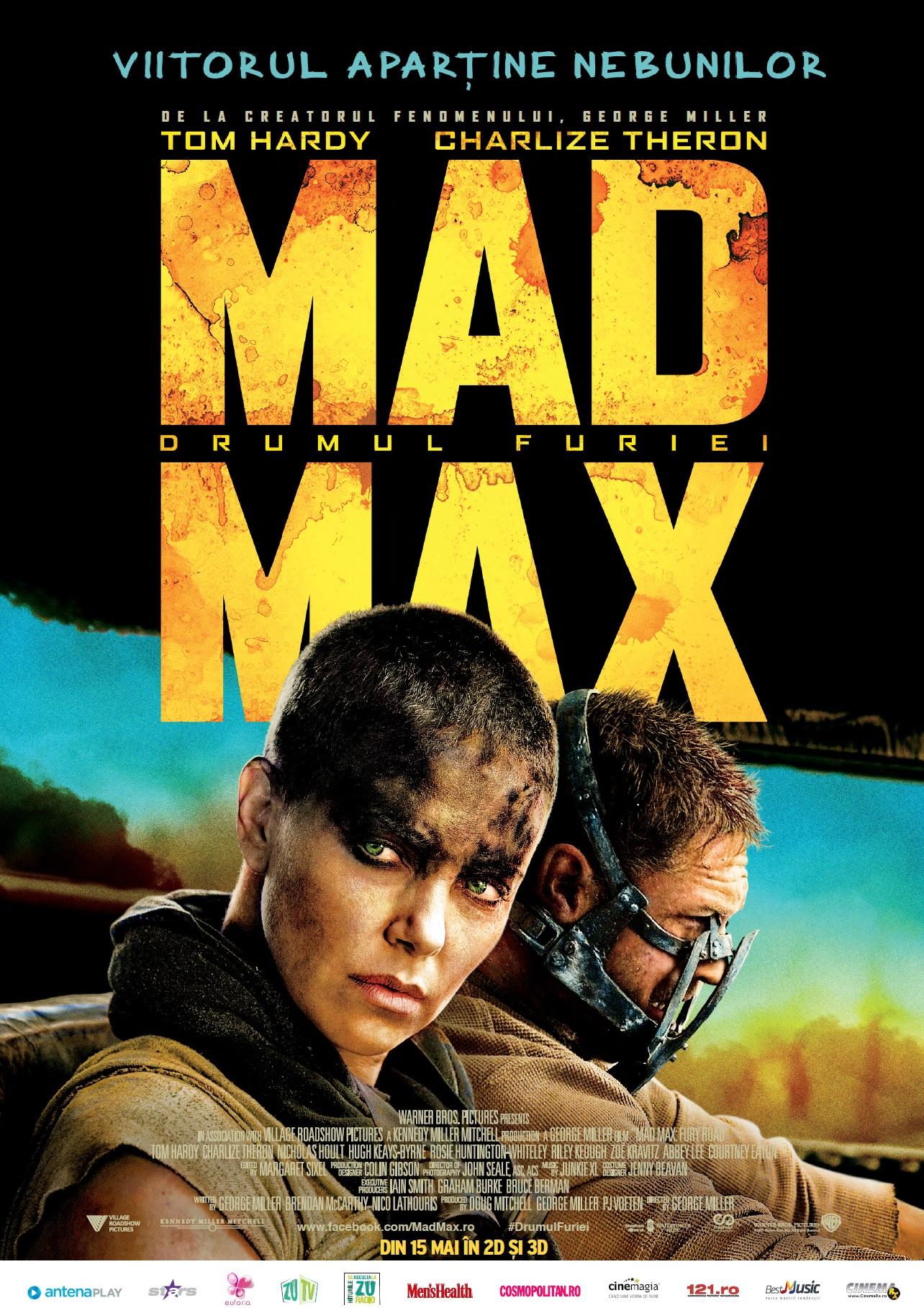 Mad Max: Drumul Furiei – 3D / Mad Max: Fury Road – 3D (Avanpremiera)