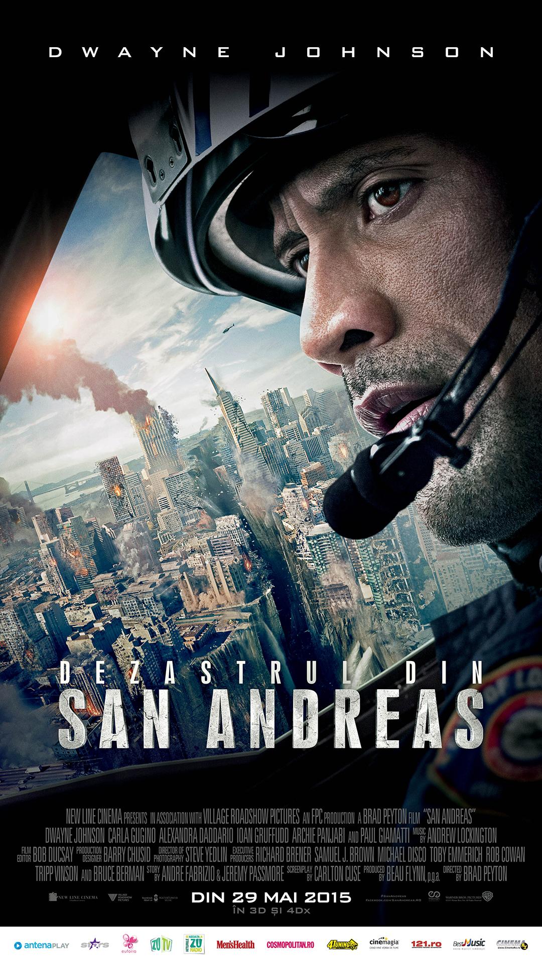 Dezastrul din San Andreas – 3D / San Andreas – 3D (Avanpremiera)