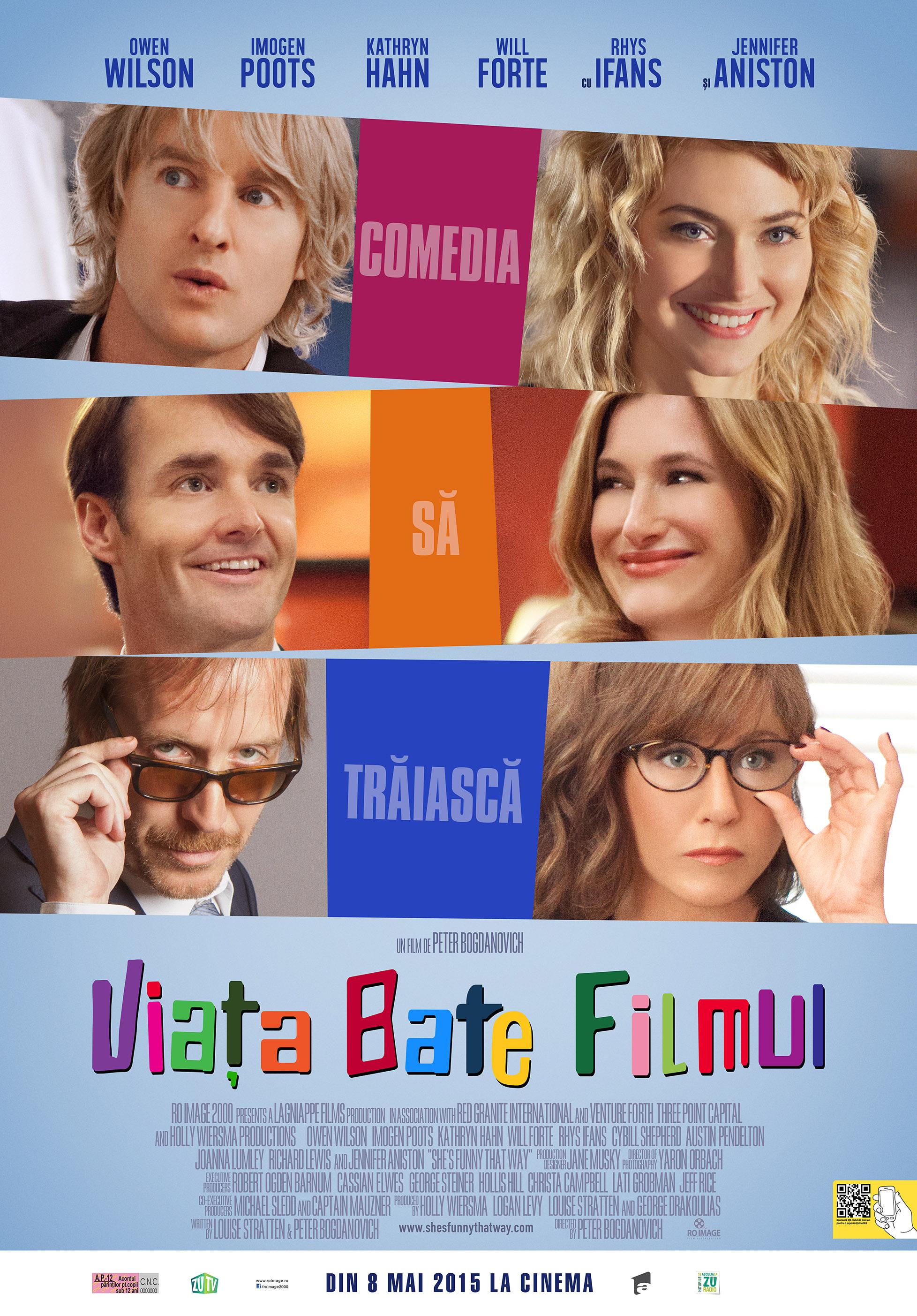 Viata bate filmul / She's Funny That Way (Premiera)