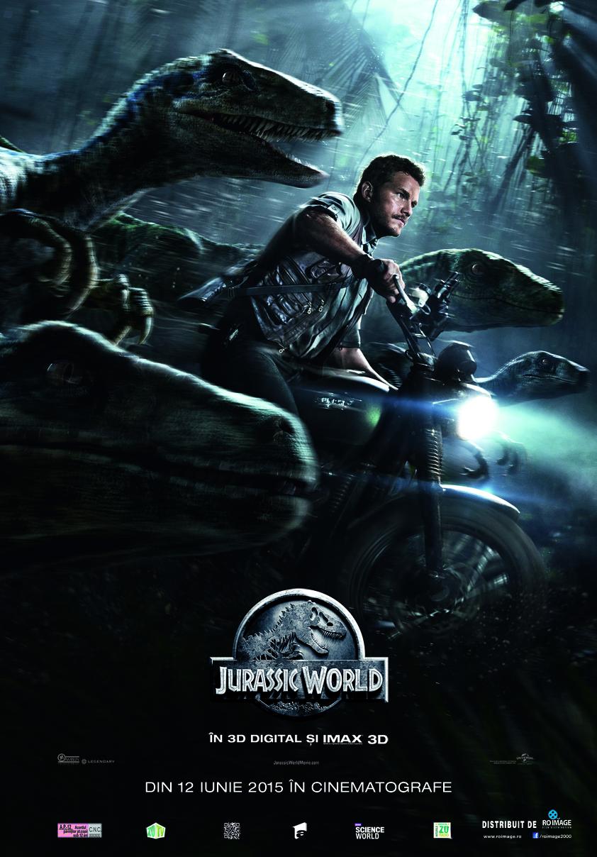 Jurassic World – 3D (Avanpremiera)