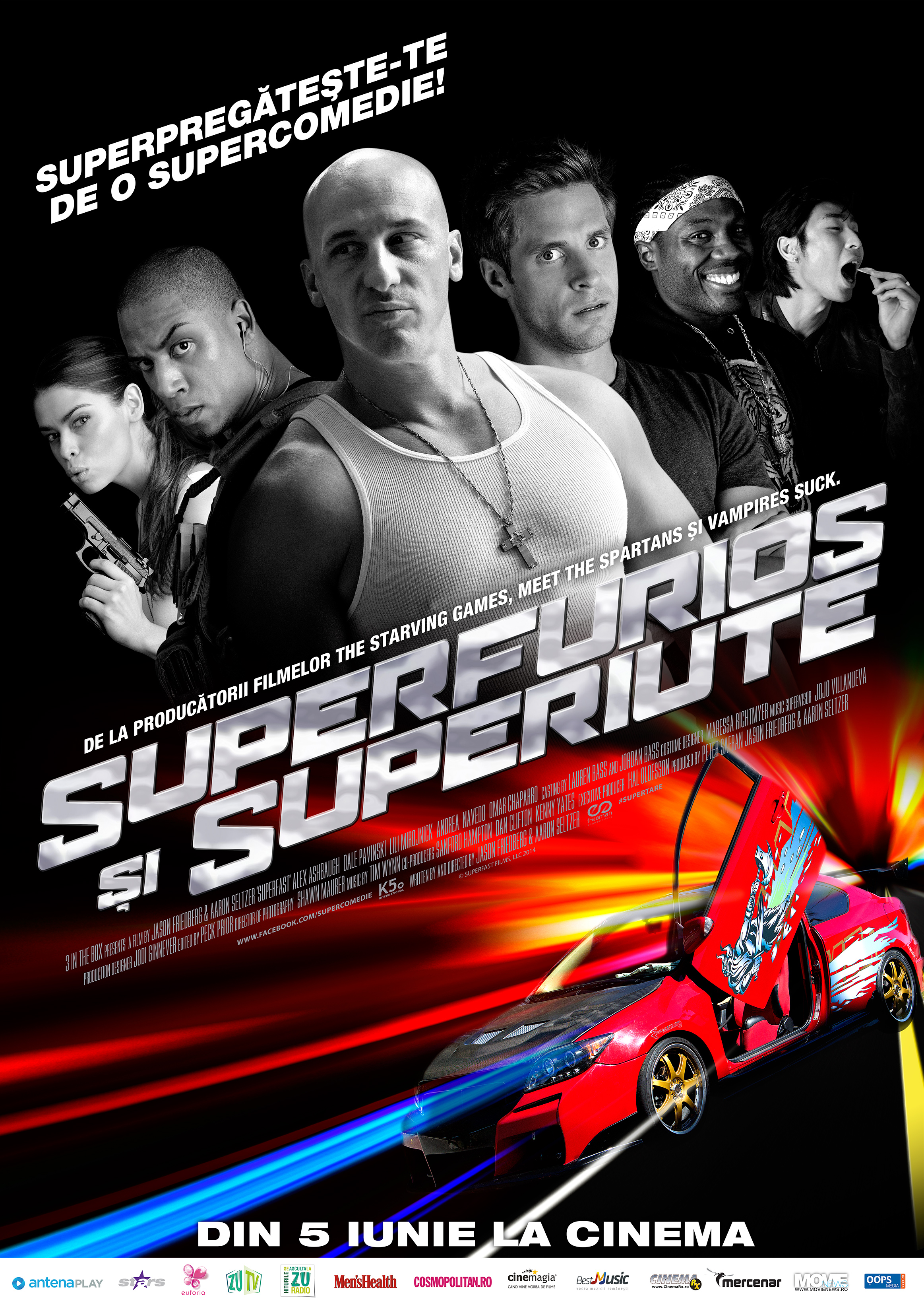 Superfurios si superiute / Superfast (Premiera)
