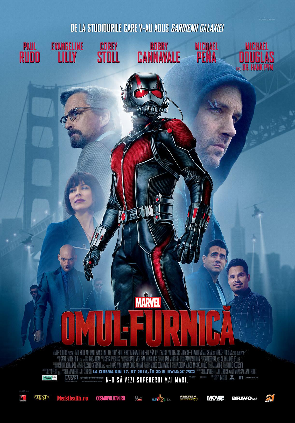 Omul-Furnica – 3D / Ant-Man – 3D (Premiera)