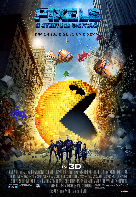 Pixels: O aventura digitala – 3D / Pixels – 3D (Premiera)