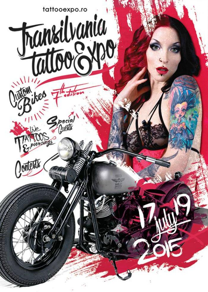Transilvania Tattoo Expo 2015