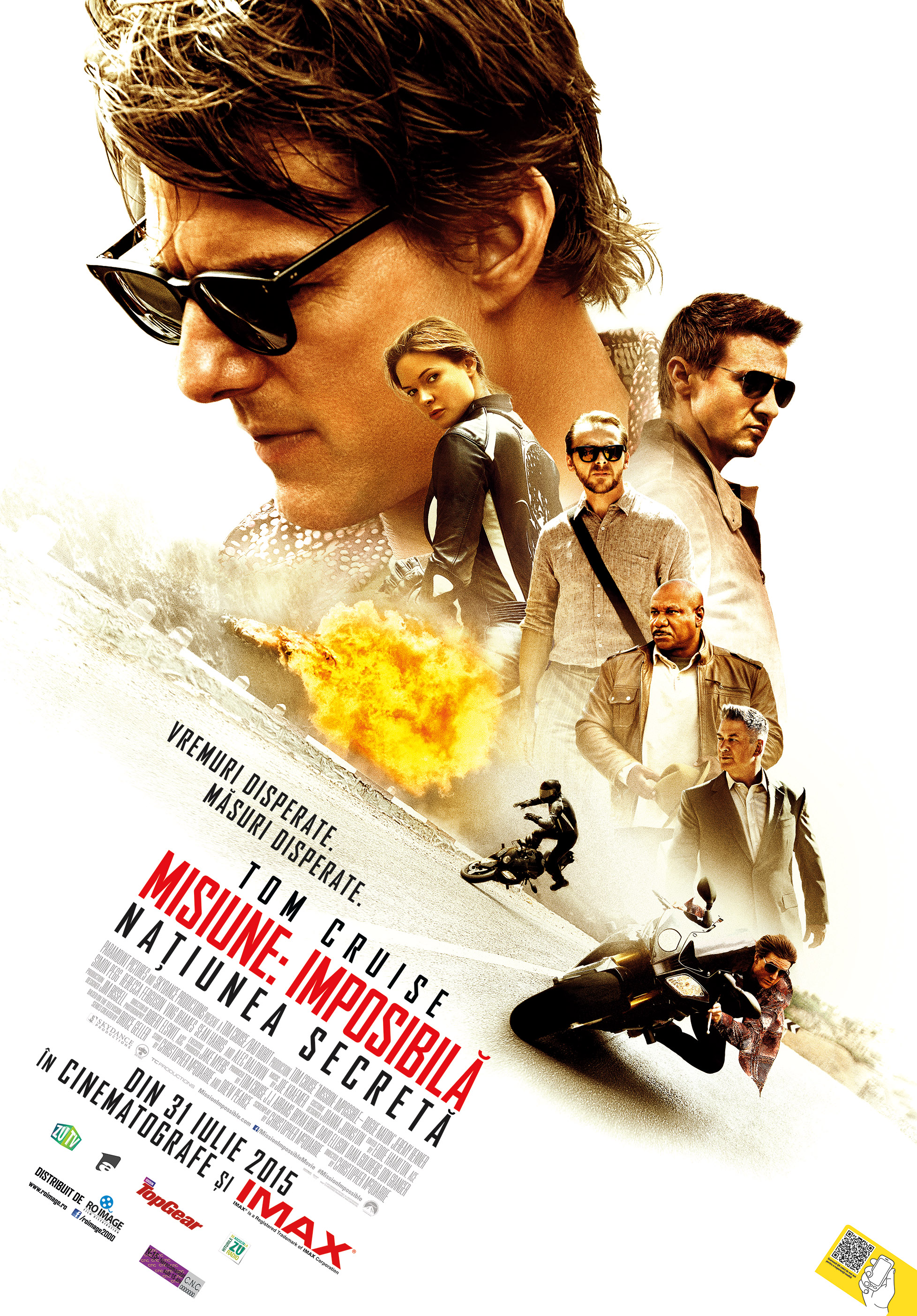 Misiune: Imposibila – Natiunea secreta / Mission: Impossible – Rogue Nation (Premiera)