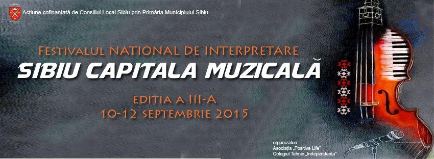 """Festivalul """"Sibiu - Capitala Muzicală"""""""