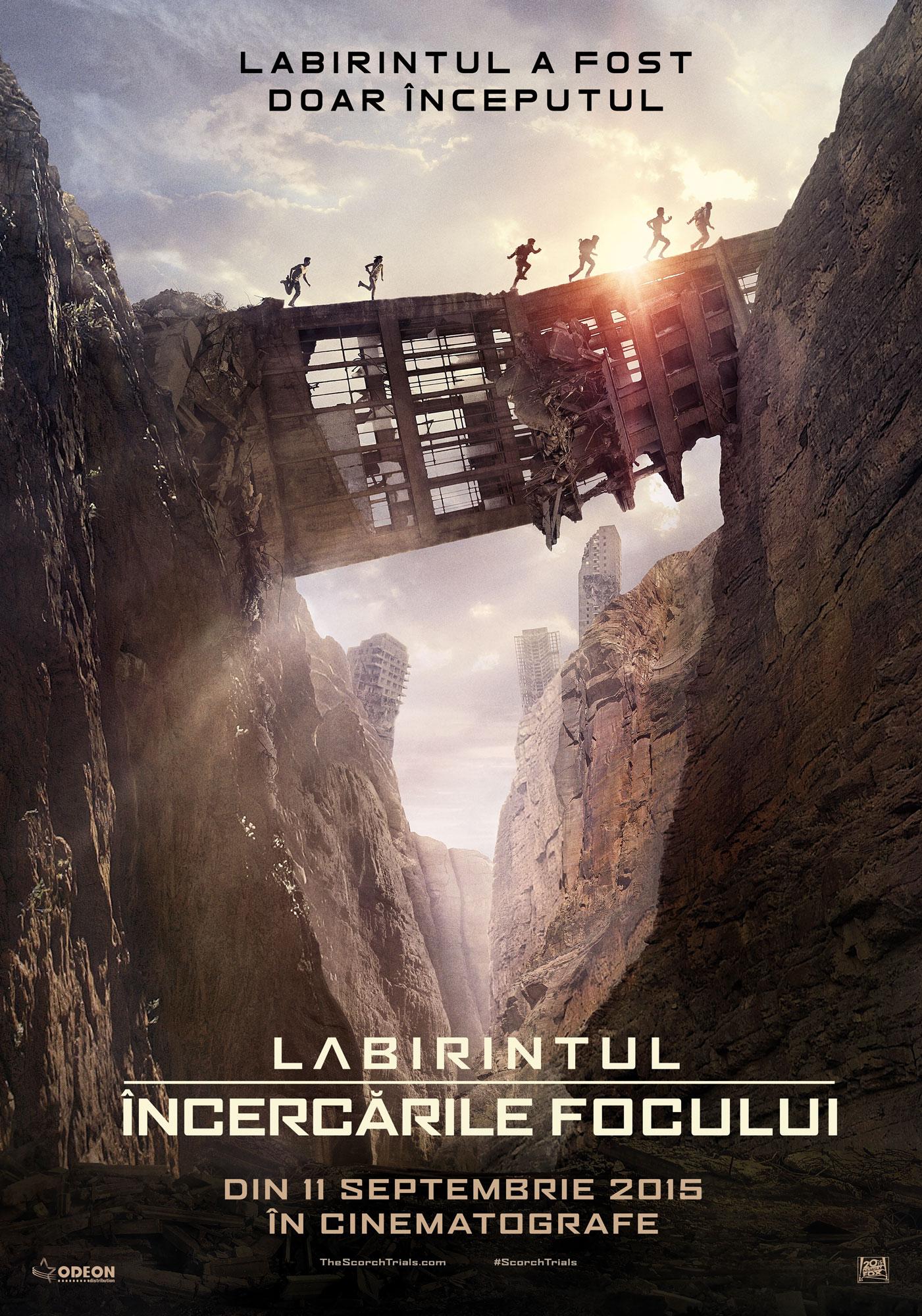 Labirintul: Incercarile focului / Maze Runner: Scorch Trials (Premiera)