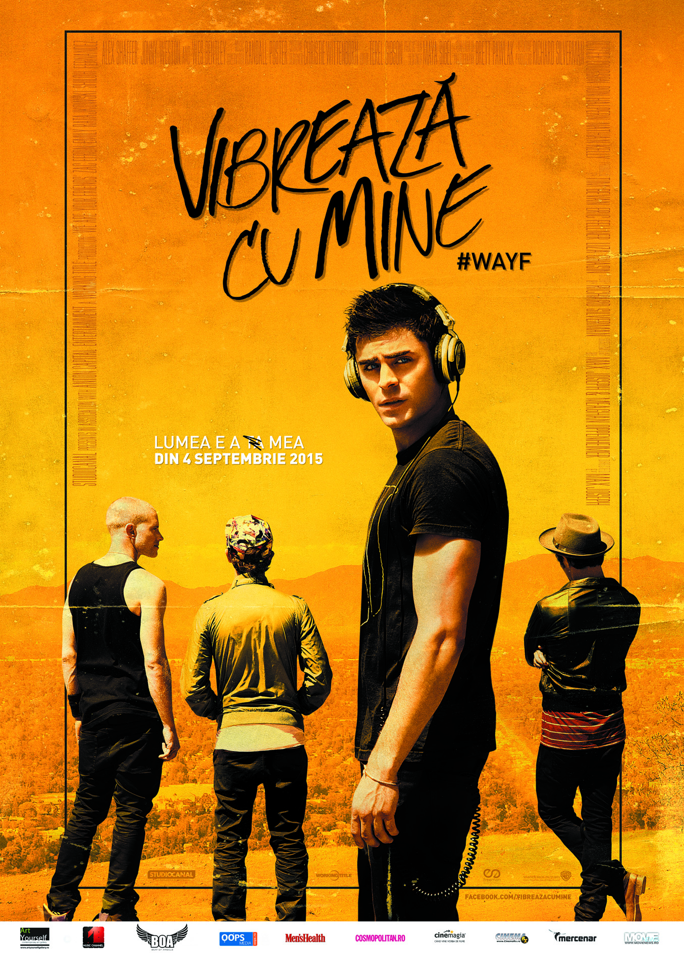 Vibreaza cu mine / We Are Your Friends (Premiera)