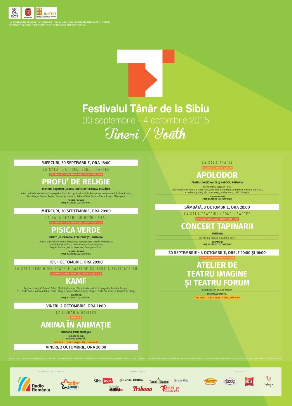 Festivalul Tânăr de la Sibiu