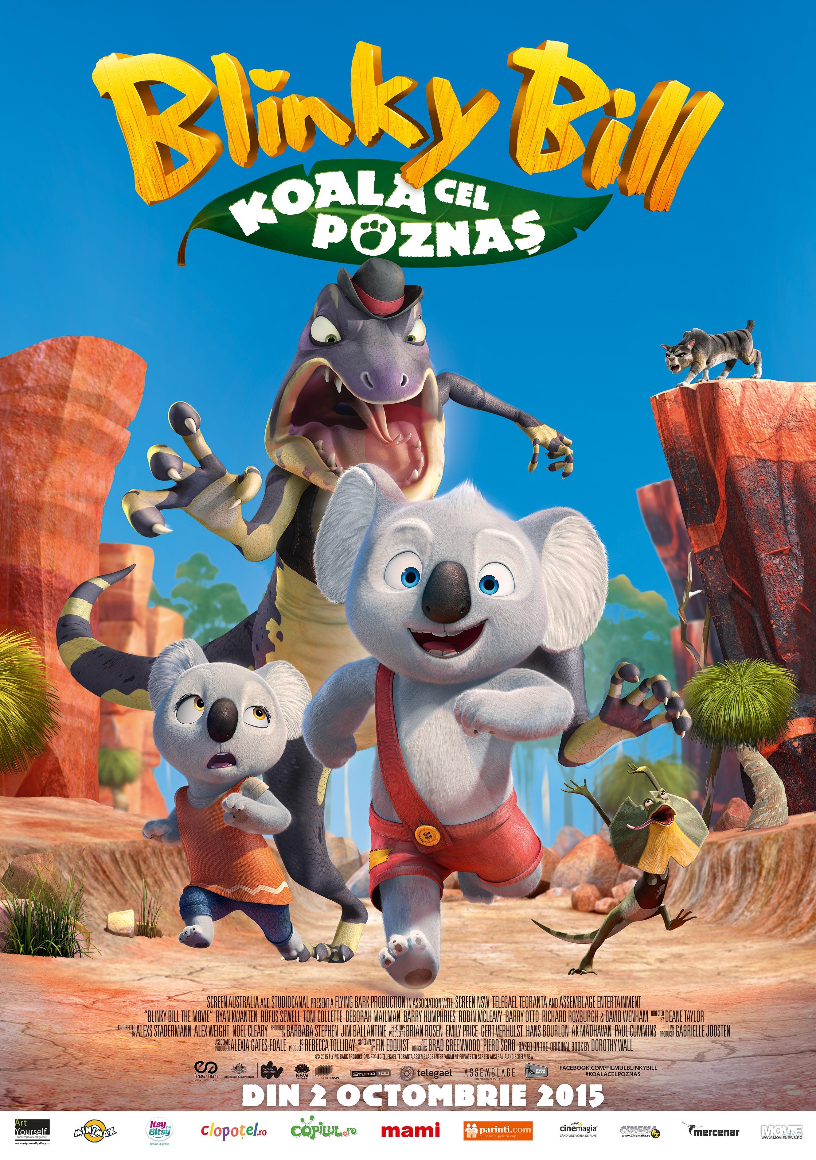Blinky Bill: Koala cel poznas – 2D Dublat / Blinky Bill – 2D Dubbed (Premiera)