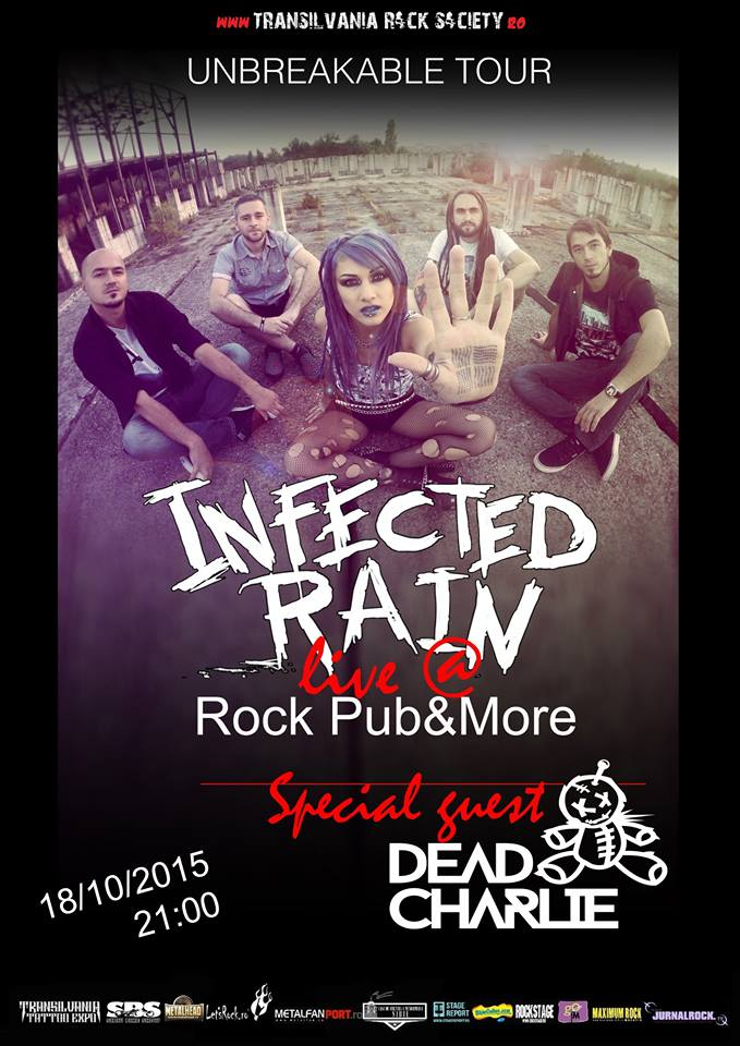 Infected Rain & Dead Charlie live @ Rock Pub & More