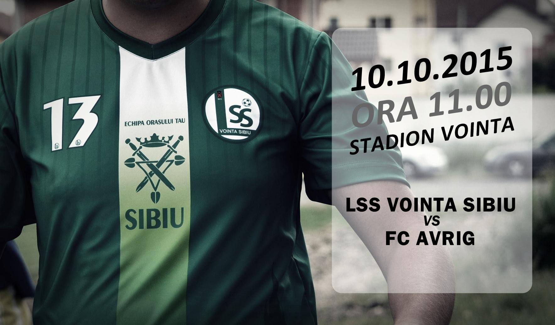 LSS Voinţa Sibiu - FC Avrig