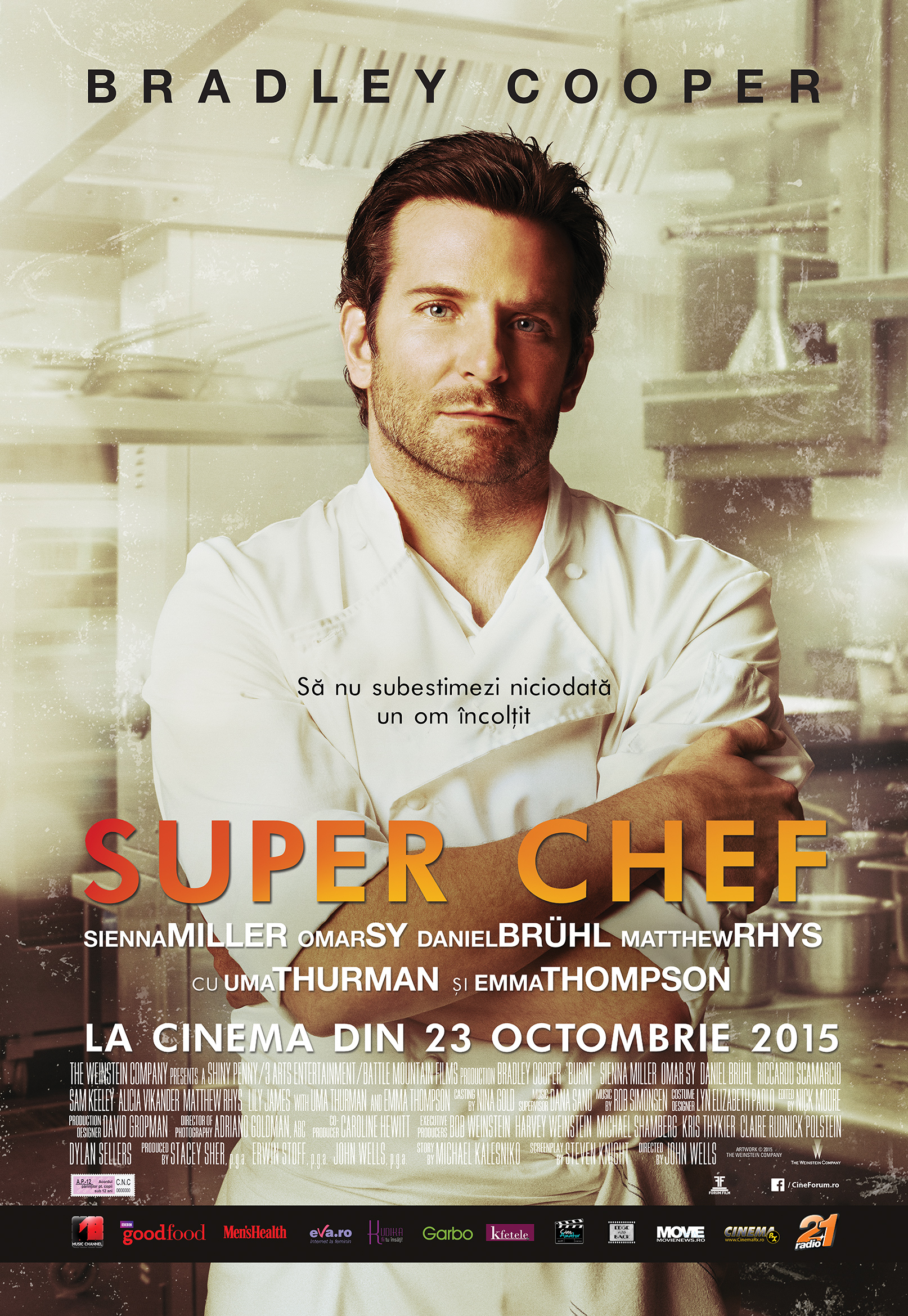 Super Chef / Burnt / Adam Jones (Premiera)