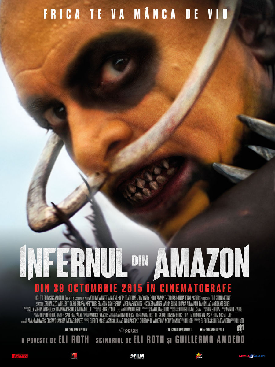 Infernul din Amazon / The Green Inferno (Premiera)