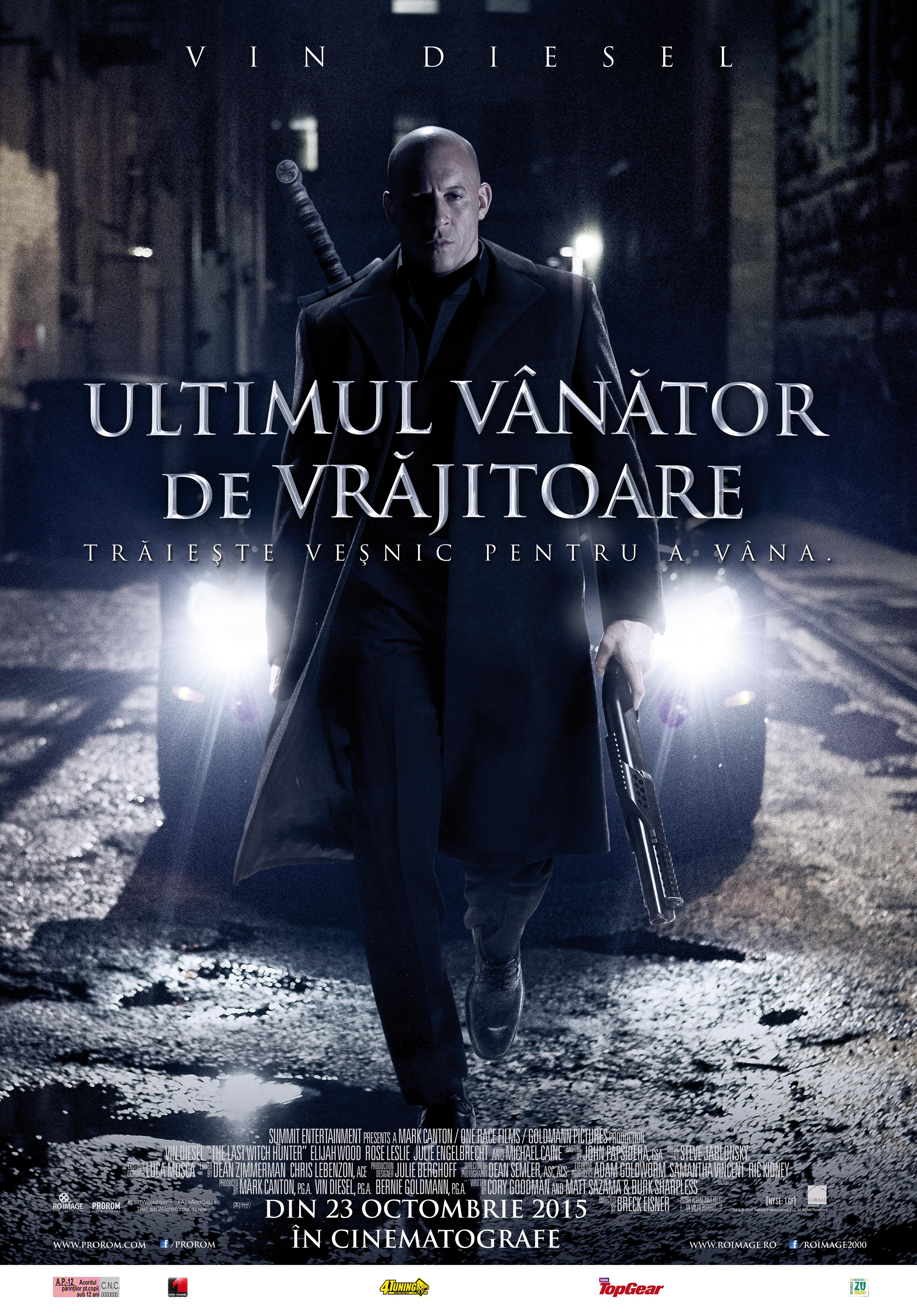 Ultimul Vanator de Vrajitoare / The Last Witch Hunter (Premiera)