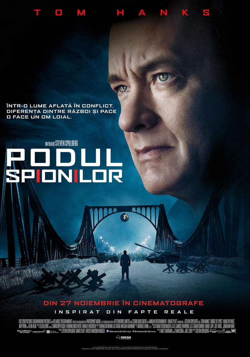 Podul Spionilor / Bridge of Spies (Premiera)