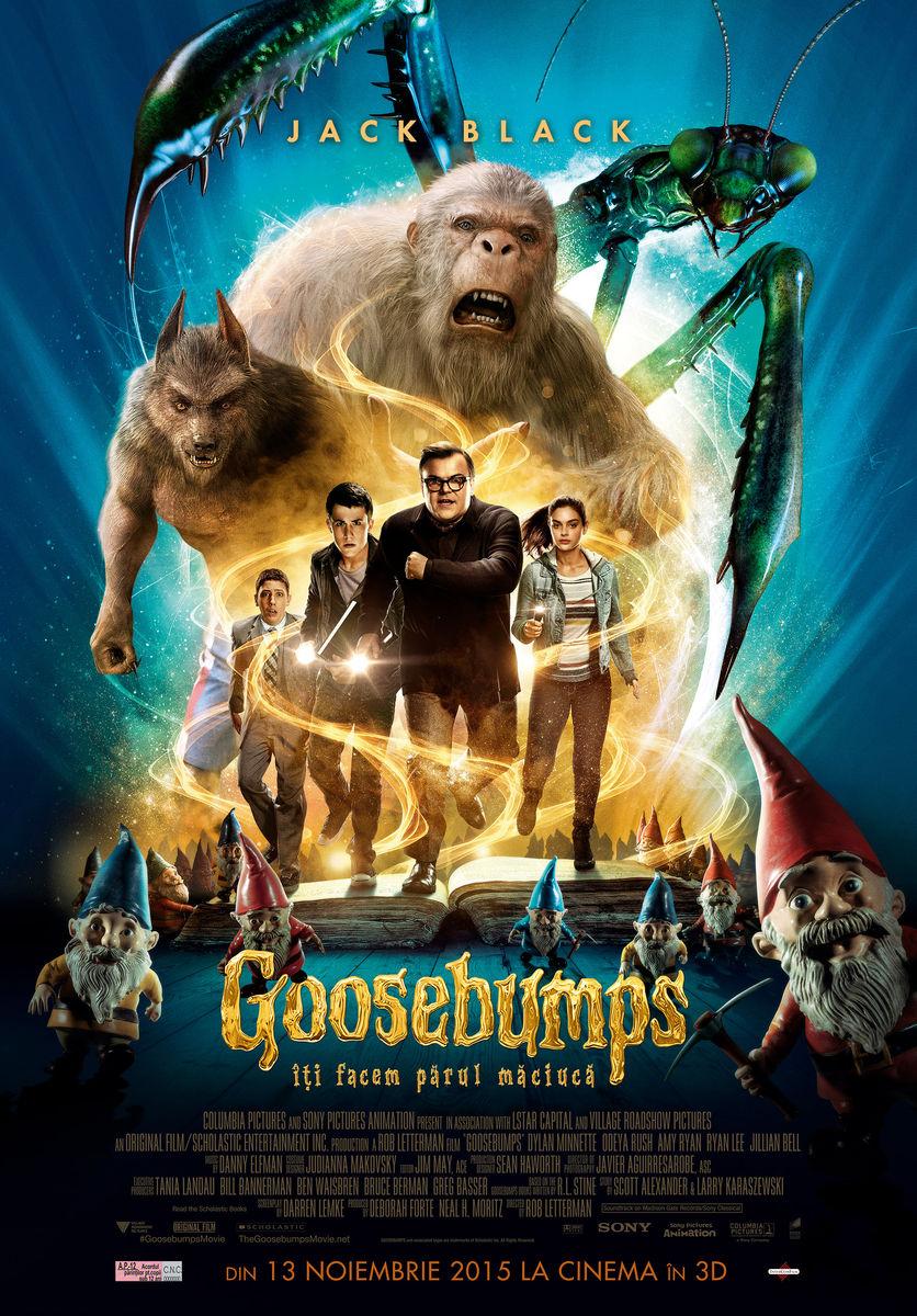 Goosebumps: Iti facem parul maciuca – 3D / Goosebumps – 3D (Premiera)
