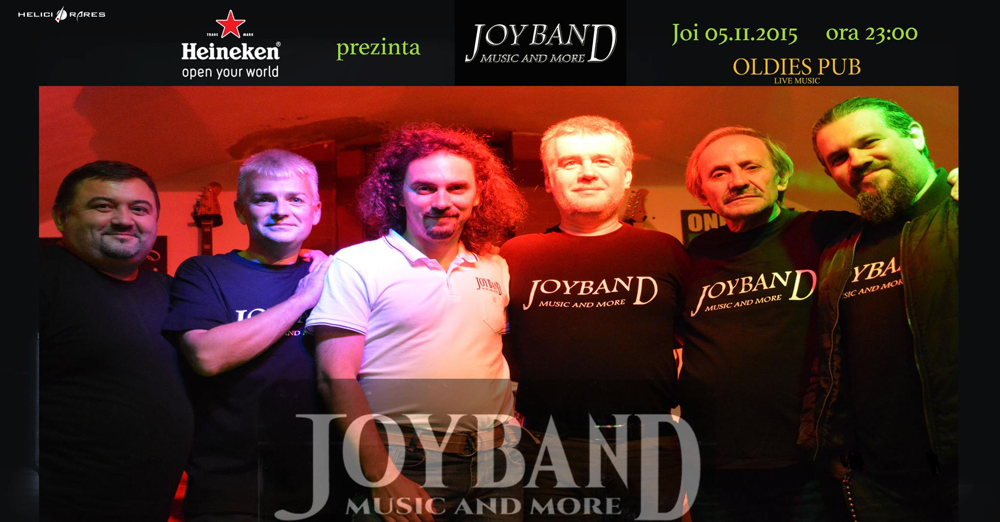 JOY BAND live in Oldies Pub