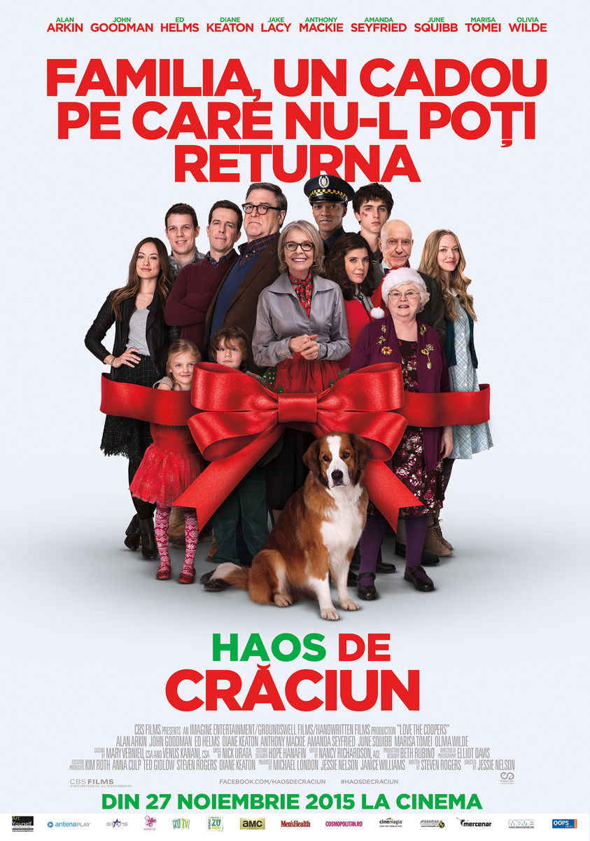Haos de Craciun / Love the Coopers (Premiera)