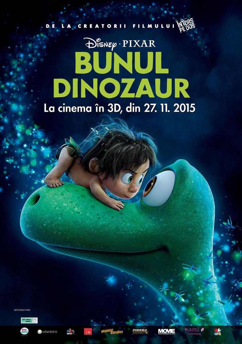 Bunul Dinozaur – 3D Dublat / The Good Dinosaur – 3D Dubbed