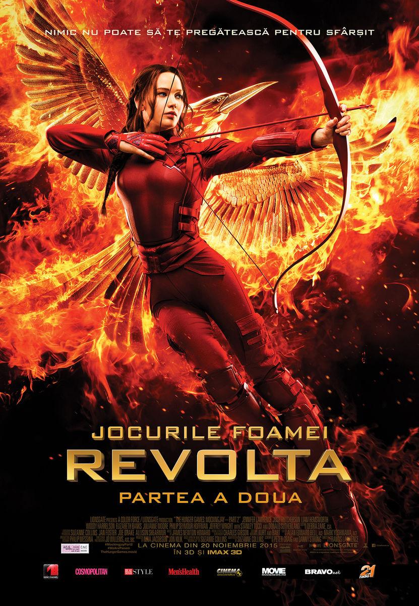 Jocurile Foamei: Revolta – Partea a 2-a – 3D / Hunger Games: Mockingjay – Part 2 – 3D (Premiera)