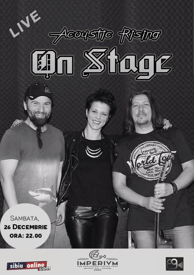 """ON STAGE"" -  ACOUSTIC RISING"