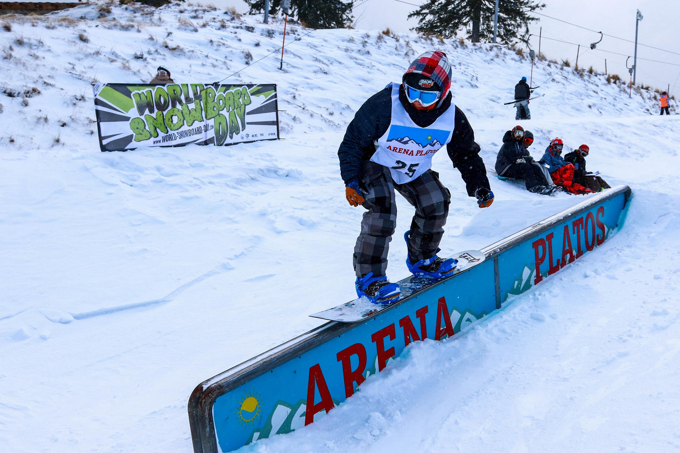 World Snowboard Day la Arena Platos