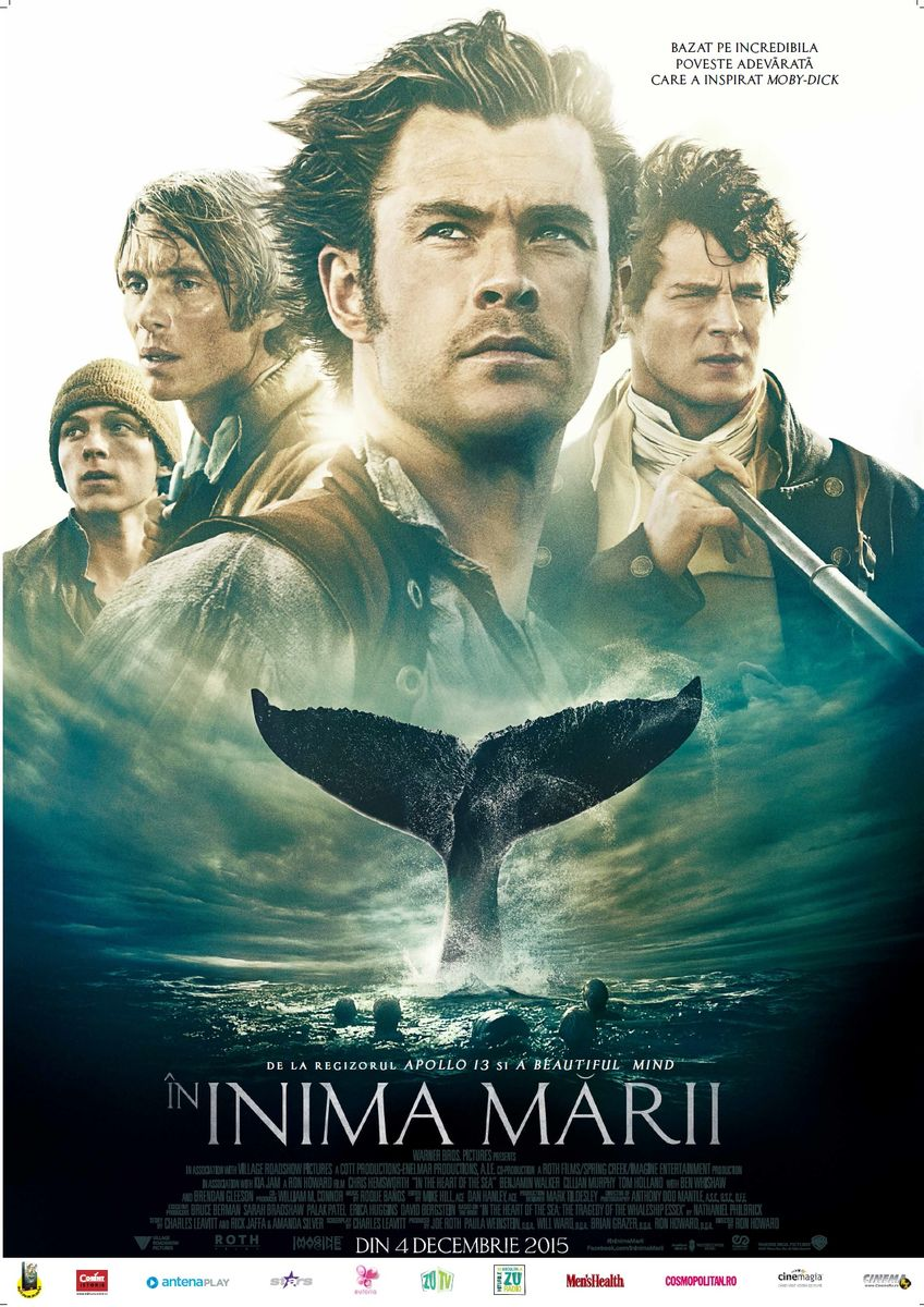 In inima marii – 3D / In The Heart of the Sea (Premiera)