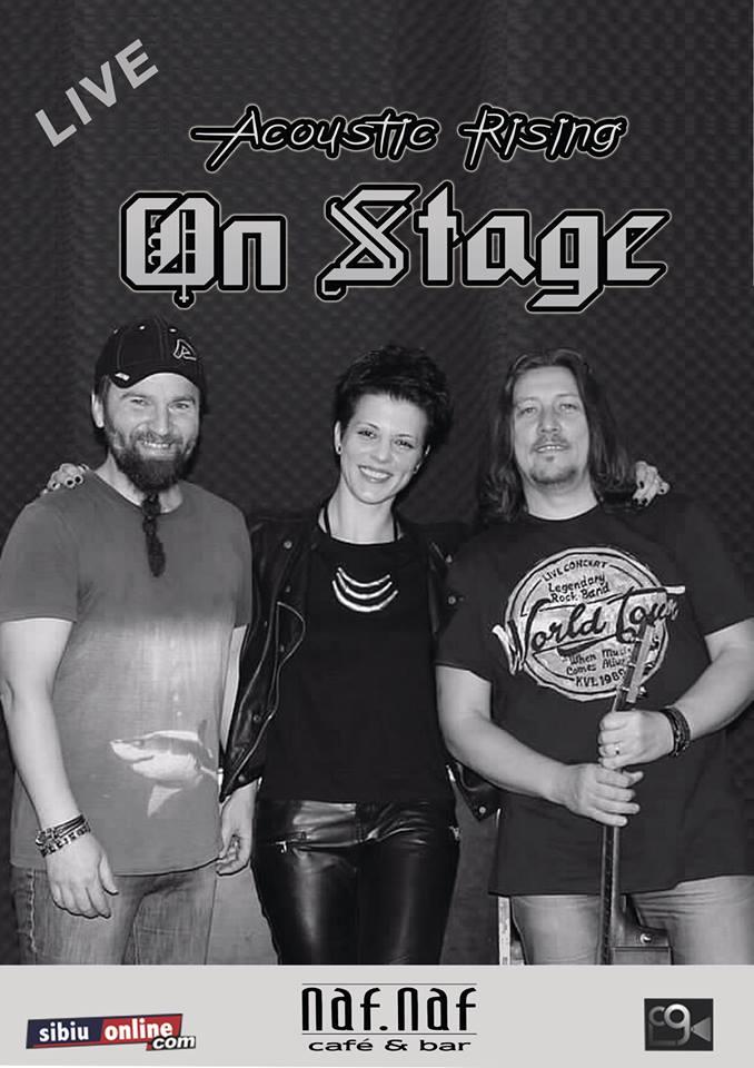 On Stage - Acoustic Rising - LIVE IN NAF.NAF