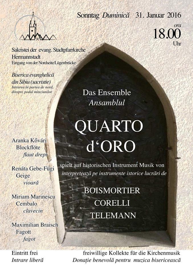 Concert QUARTO d'ORO