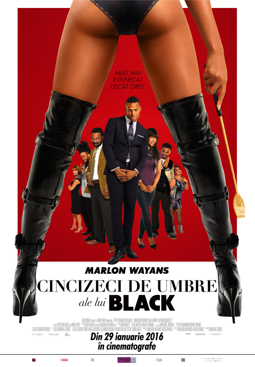 Cincizeci de umbre ale lui Black / Fifty Shades of Black (Premiera)