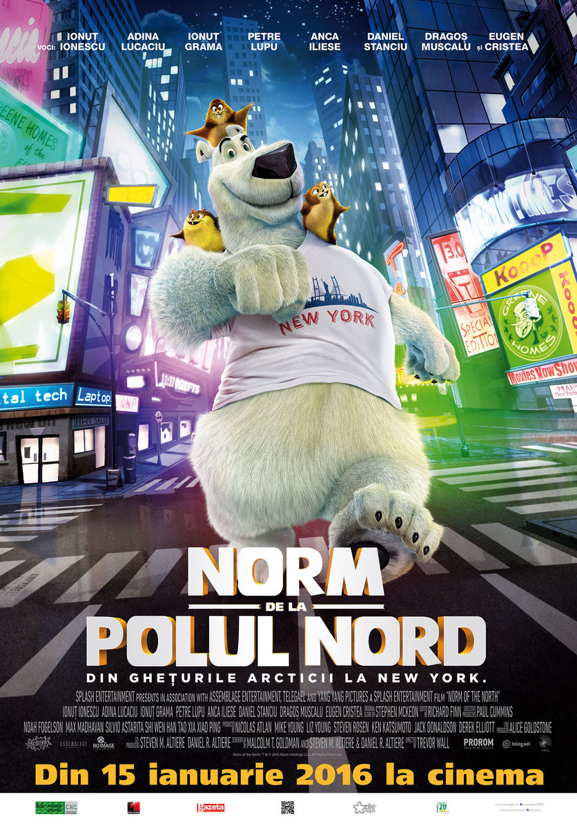 Norm de la Polul Nord – 2D Dublat / Norm of the North – 2D Dublat