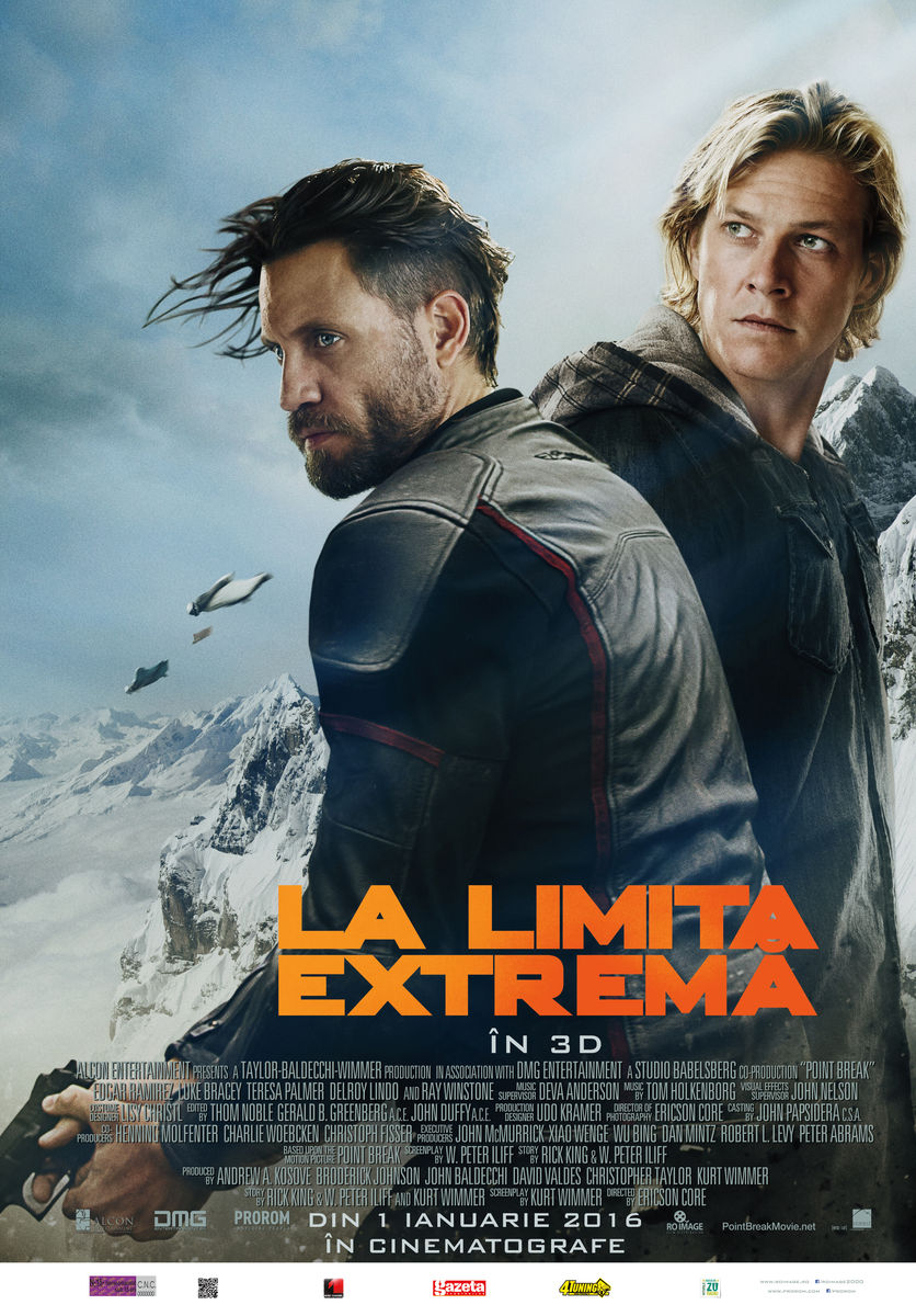 La limita extrema – 3D / Point Break – 3D (Premiera)