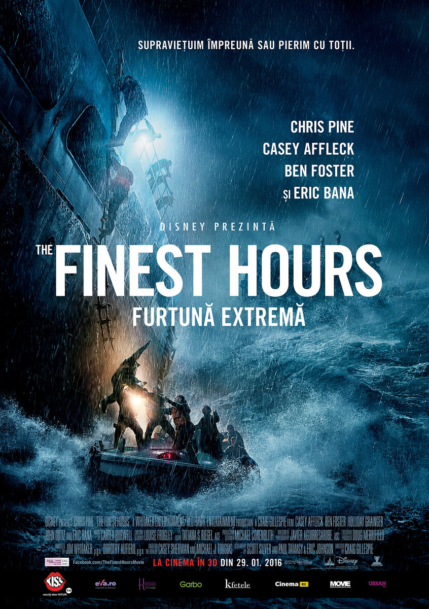 Furtuna extrema – 3D / The Finest Hours – 3D (Premiera)