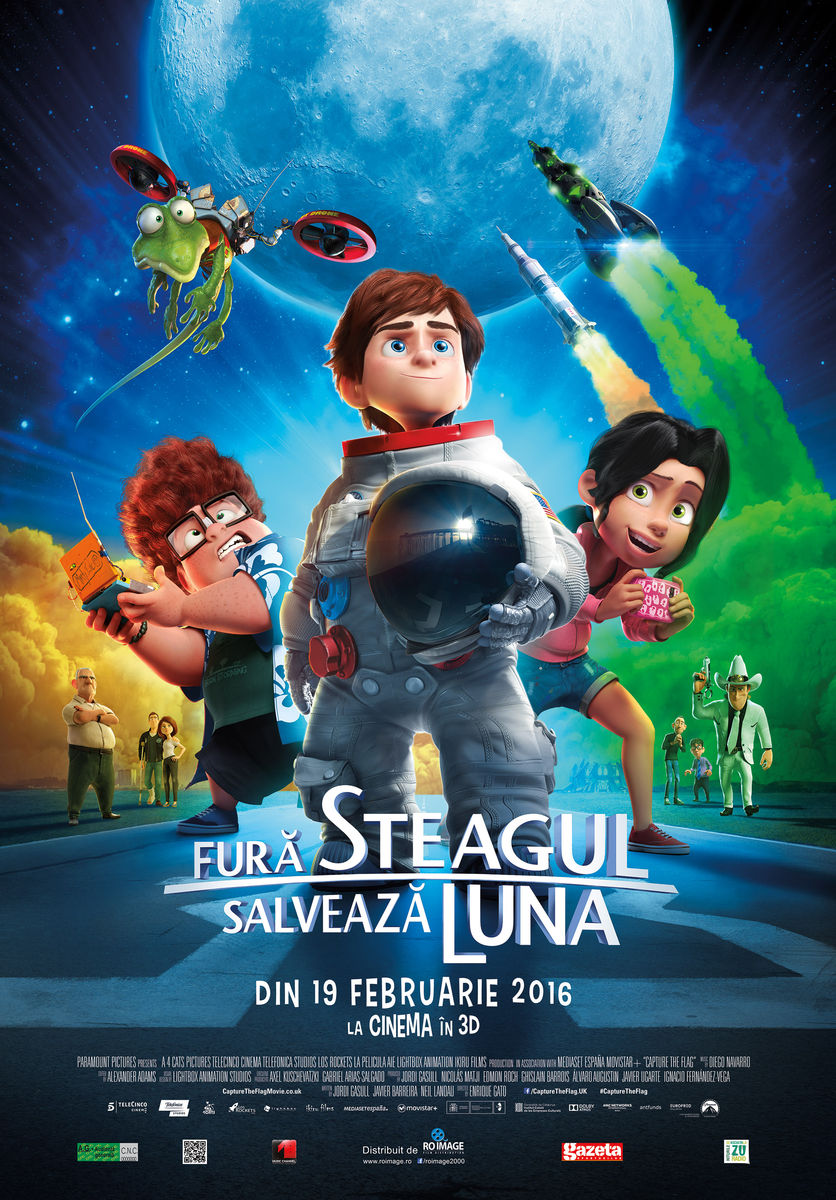 Fura steagul, salveaza Luna - 3D Dublat / Capture the Flag – 3D (Premiera)