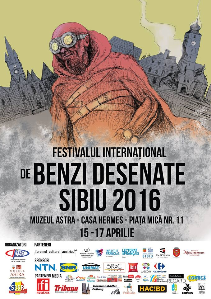 Festivalul International de Benzi Desenate de la Sibiu