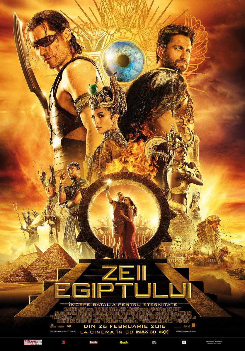 Zeii Egiptului – 3D / Gods of Egypt – 3D (Premiera)