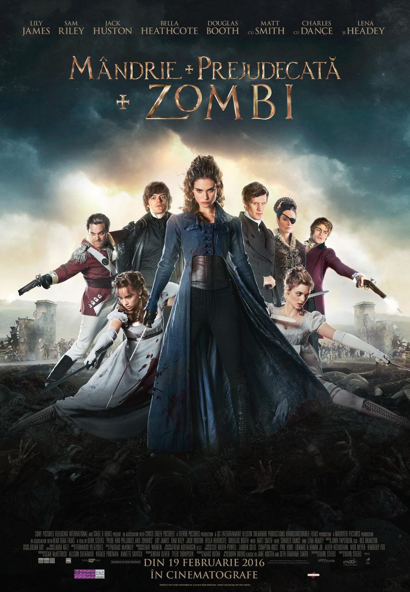 Mandrie, Prejudecata si Zombi / Pride + Prejudice + Zombies (Premiera)