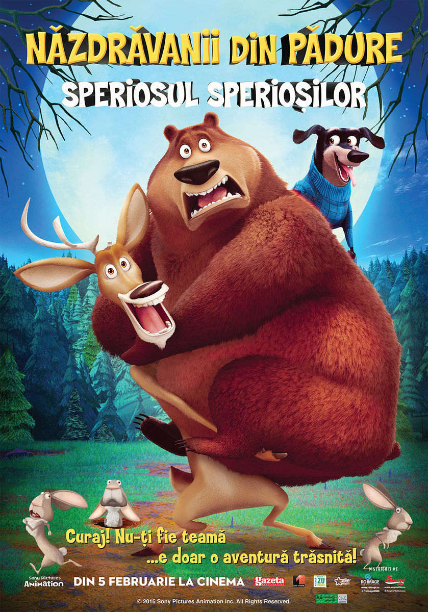 Nazdravanii din Padure: Speriosul speriosilor - 2D Dublat / Open Season: Scared Silly – 2D