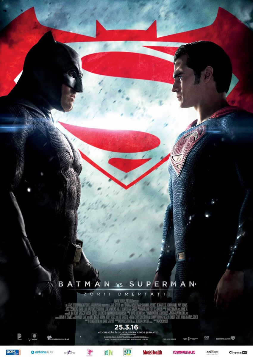 Batman vs. Superman: Zorii Dreptatii – 3D / Batman v Superman: Dawn of Justice – 3D