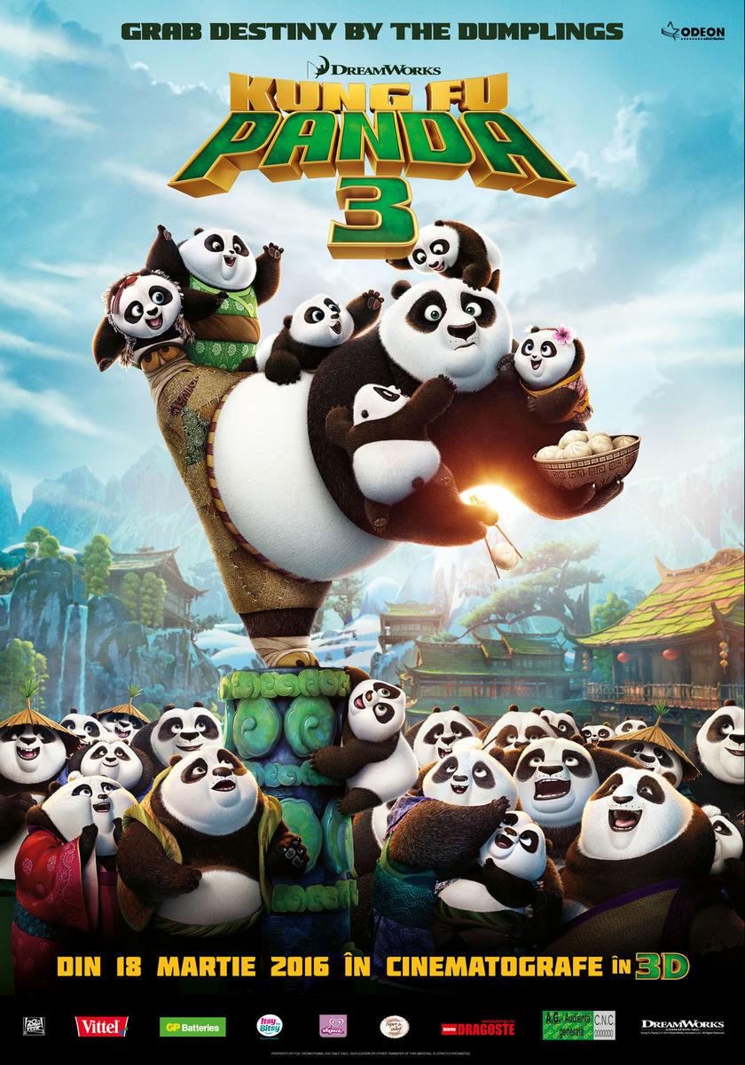 Kung Fu Panda 3 – 3D Dublat