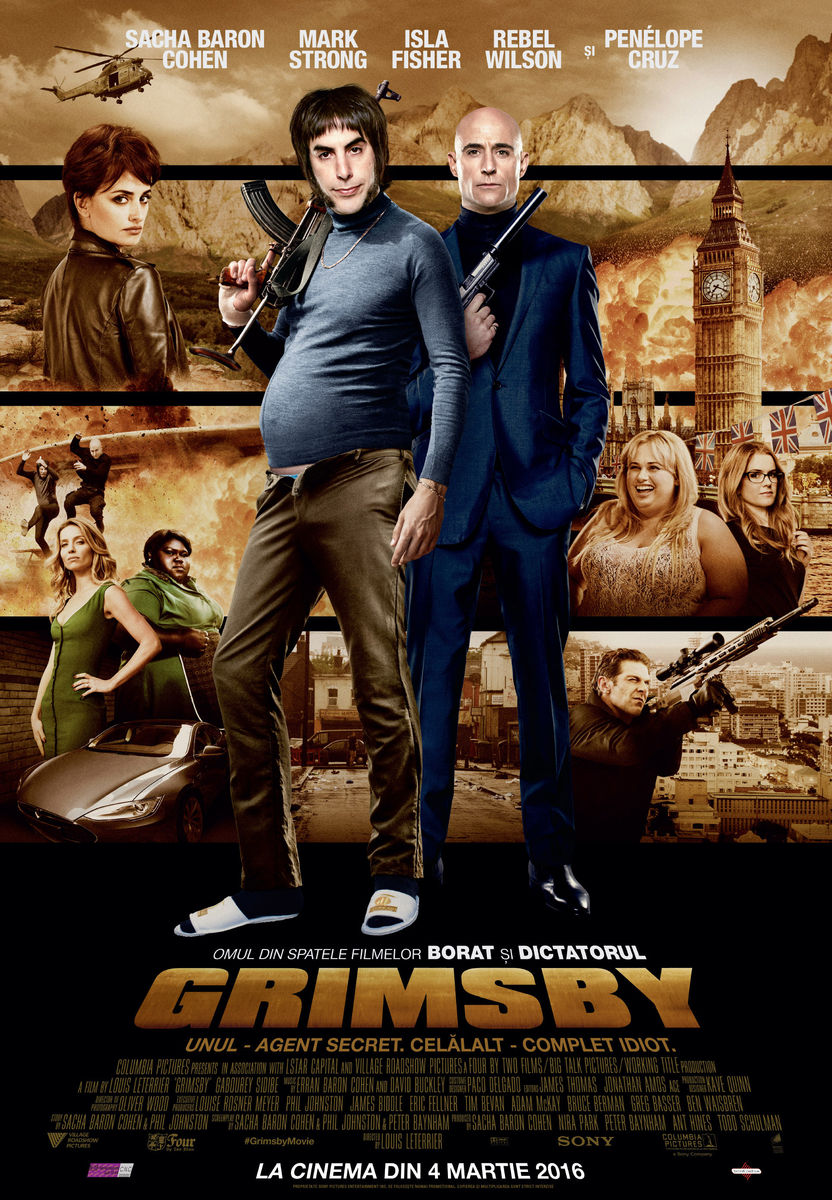 Grimsby / The Brothers Grimsby (Premiera)