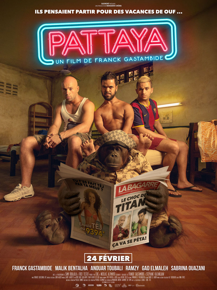 Aventuri in Pattaya / Pattaya (Premiera)