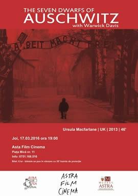 Astra Film cinema: Cei 7 pitici de la Auschwitz