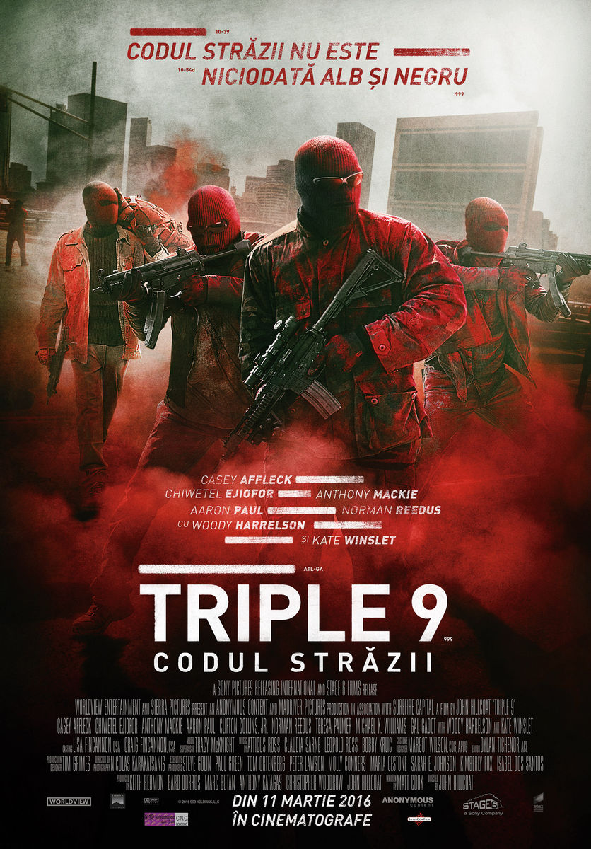 Triple 9: Codul strazii (Premiera)