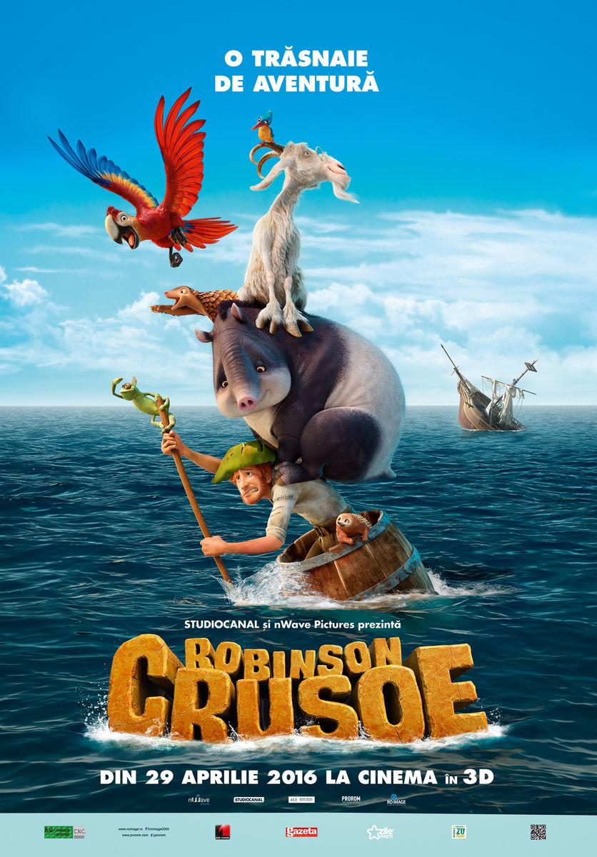 Robinson Crusoe – 3D Dublat (Premiera)