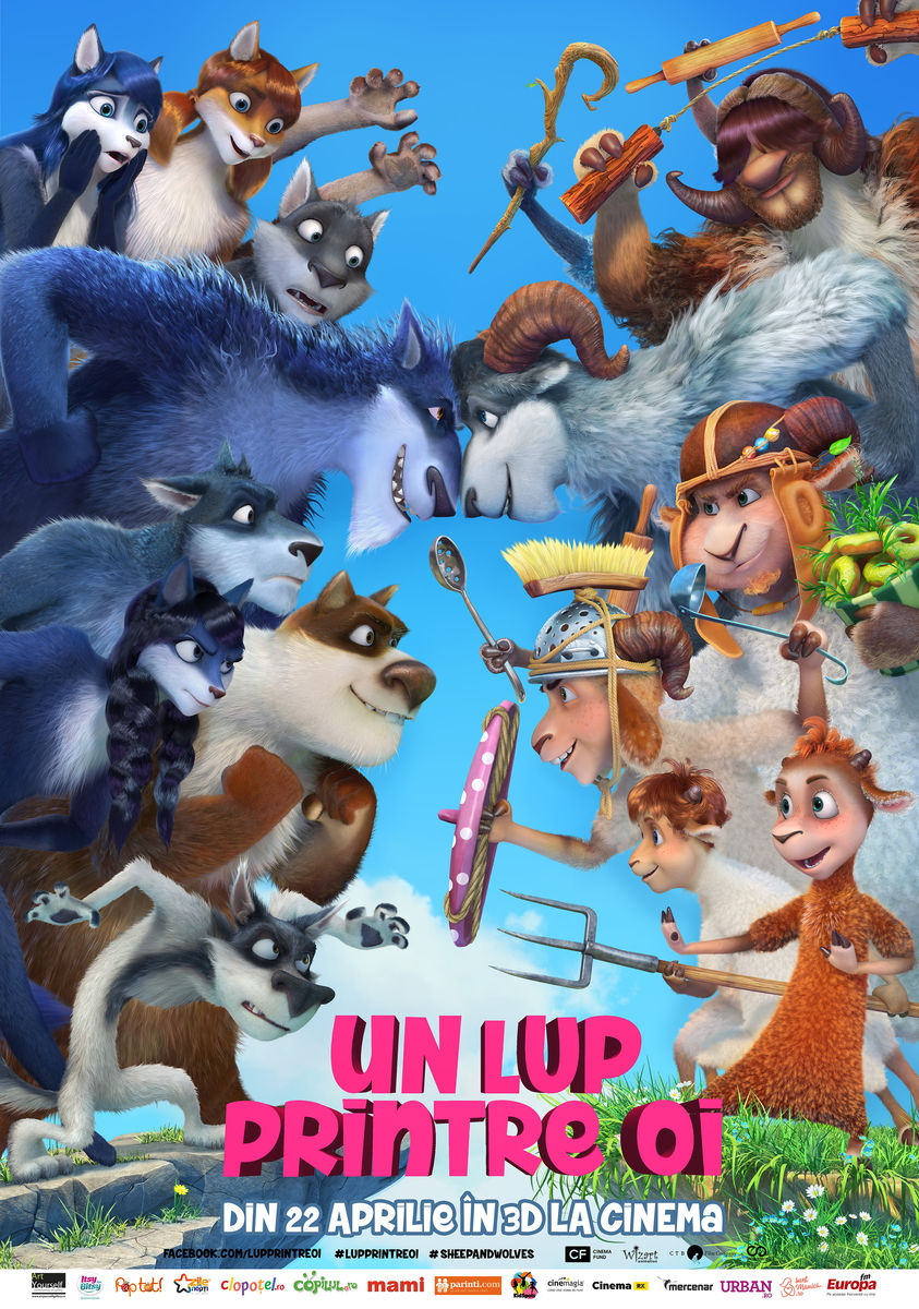 Un Lup printre oi – 3D Dublat / Sheep and Wolves – 3D (Premiera)