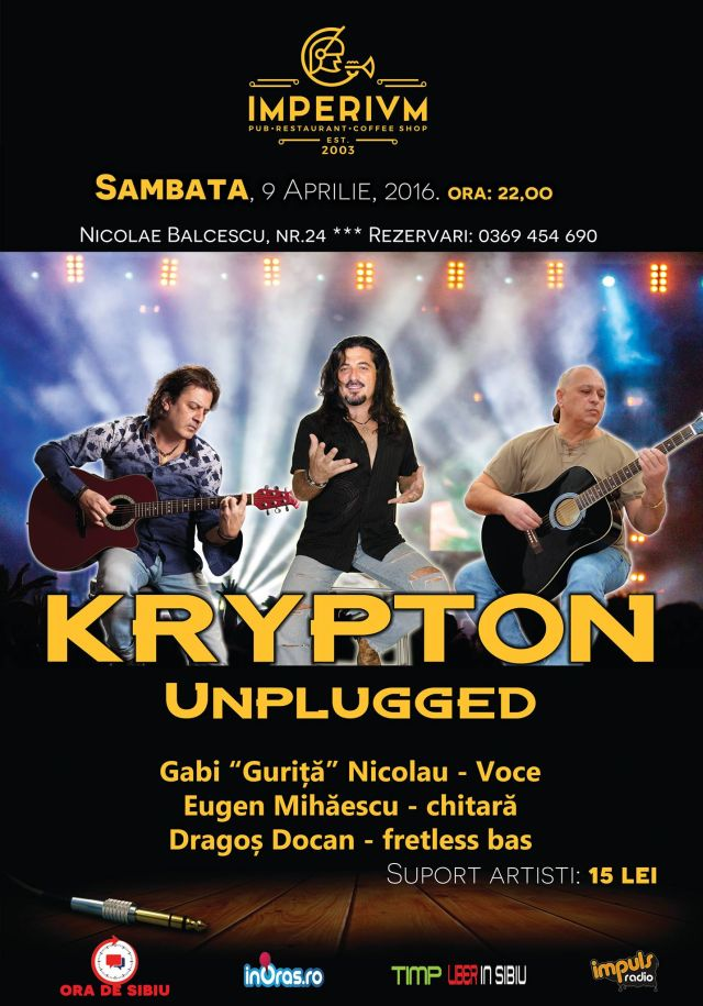 KRYPTON Unplugged !