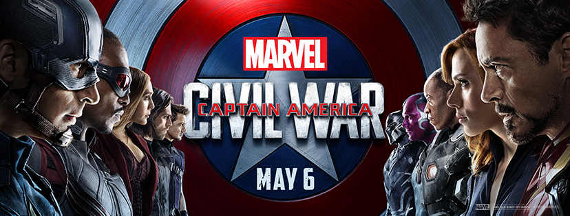 Capitanul America: Razboi Civil – 3D / Captain America: Civil War – 3D (Premiera)